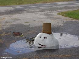 Melting Meme - snowman melting pictures