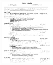 Resume Sample For It Jobs by 9 Entry Level Resume Examples Free U0026 Premium Templates