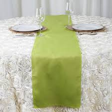 sage green table runner sage green polyester runner table top wedding catering party