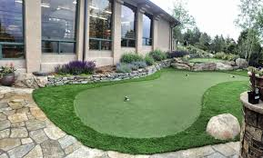 Backyard Putting Green Installation by Putting Green Turf Artificial Grass For Golf Progreen