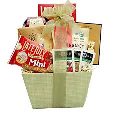 healthy food gift baskets broadway basketeers organic and healthy gift
