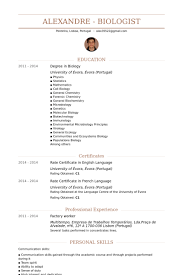 resume for factory worker templates resume tips skills