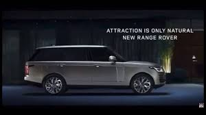 land rover vogue 2018 2018 range rover facelift revealed early in leaked promo