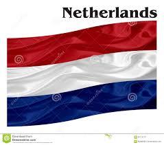 Flag Of Netherlands Flag Of Netherlands With A Word Stock Illustration Image 94175116