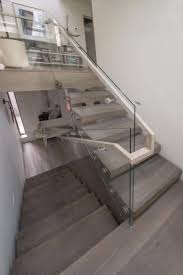 Banister Rails Metal Best 25 Glass Stair Railing Ideas On Pinterest Glass Stairs