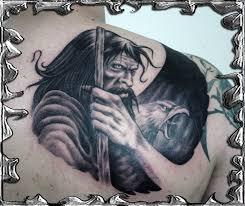 wizard tattoo by mojotatboy on deviantart