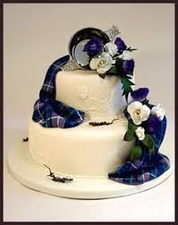 wedding cake edinburgh scottish wedding ideas sugar thistle harris w103 wedding