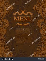 vintage royal elegant vector design template stock vector