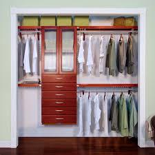 solid wood closet organizer l john louis home