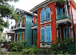 new orleans colorful houses new orleans homes and neighborhoods mid city homes in new orleans