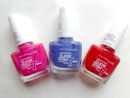 maybelline super stay 7 days gel nail color surreal bubble gum