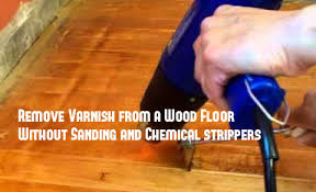 Refinishing Wood Floors Without Sanding Refinishing Ideas Remove Varnish From A Wood Floor Without