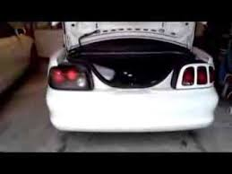 96 98 mustang tail lights 1994 1998 ford mustang altezza ebay tail light install youtube