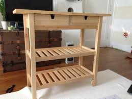 rolling kitchen island ikea ikea wooden cart on wheels creative joanne russo homesjoanne