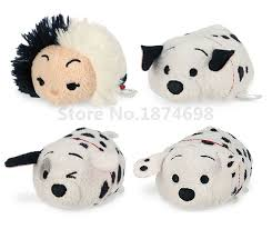 tsum tsum 101 dalmatians mini plush collection cruella vil