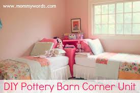 Pottery Barn Teen Stores Incredible Corner Unit Beds Store It Corner Unit Pbteen Drk