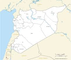 Homs Syria Map by Syria Governorates Free Editable Map