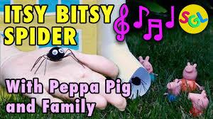 itsy bitsy spider nursery rhymes peppa pig itsy bitsy spider
