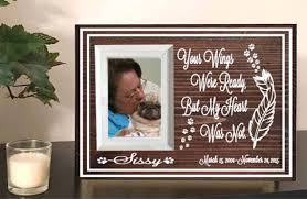 remembrance picture frame pet memorial frame dog memorial pet loss gift pet
