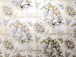 wedding gift wrapping paper white gold wedding gift wrap tissue paper pipii mr mrs wedding