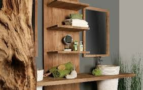 Recycled Bathroom Vanities by Reorient Sculpts Reclaimed Teak Wood Into The Stunning 4bath