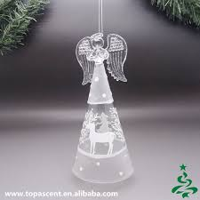 animated hand blown glass christmas angel ornaments wholesales