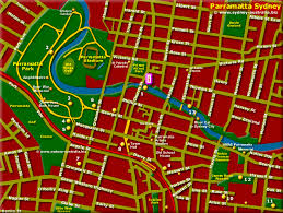 map attractions parramatta map sydney tourist attractions