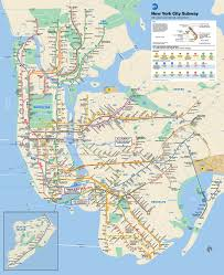Map Of New York City Attractions Pdf by Mta Info Mta Subway Map
