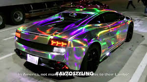 lamborghini lamborghini galaxy chrome new youtube