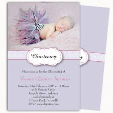 Baptism Card Invitation Photo Christening Invitation Baptism