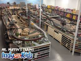 Indiana travel stores images Mr muffin 39 s trains indy with kids jpg
