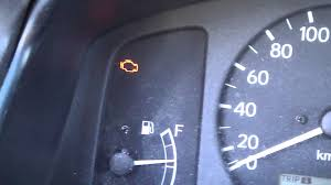 how to reset fast toyota engine warning light years 2000 2007