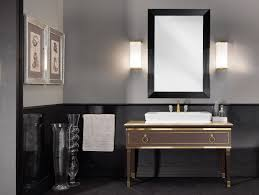 Midcentury Modern Bathroom by Lighting Bathroom Vanity Sconces Exterior Light Fixtures Bedroom