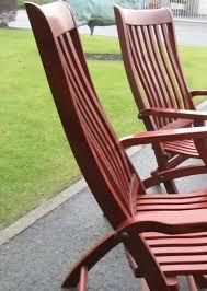 4 starbay marine folding deck chairs guyane