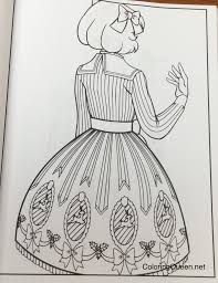 fashion coloring book for coloring queen