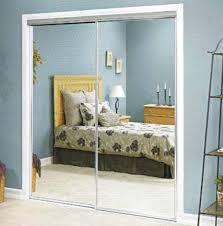 Mirror Sliding Closet Doors Framed Mirrored Sliding Closet Doors