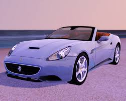 Ferrari California 2009 - fresh prince creations sims 3 2009 ferrari california
