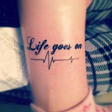 a vida continua tatuajes