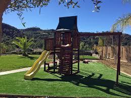 California Backyard How To Install Artificial Grass Joshua Tree California Backyard