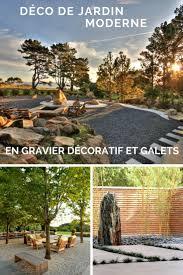 amenagement jardin moderne les 25 meilleures idées de la catégorie gravier décoratif sur