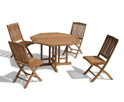 Drop Leaf Patio Table Gateleg Patio Table And Stowable Chairs Gccourt House