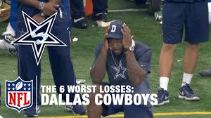 dallas cowboys thanksgiving record ranking the dallas cowboys u0027 6 worst losses of 2015 nfl now youtube