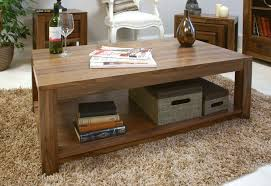 Open Coffee Table Mayan Walnut Open Coffee Table Signature Hardwood