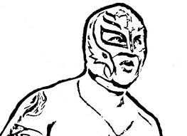 best rey mysterio coloring pages color gallery 751 unknown