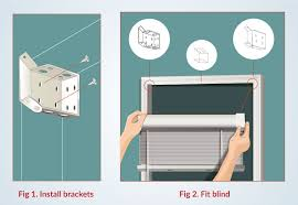 Installing Window Blinds Outside Mount How To Install Venetian Blinds Outside Mount Zebrablinds