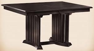 Mission Dining Room Furniture Oakwood Furniture Amish Furniture In Daytona Beach Florida