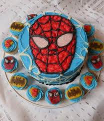 amazing spiderman birthday cake u0026 cupcake ideas