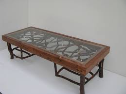 Rustic Coffee Table Ideas Furniture Oval Coffee Table With Glass Top And High Legs For