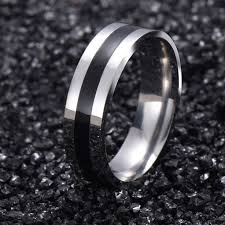bluelans wedding band ring stainless steel matte ring 57 best rings images on rings engagement jewellery
