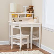 Desk Small Space Room Classic Corner Desk And Chair With Reversible Hutch